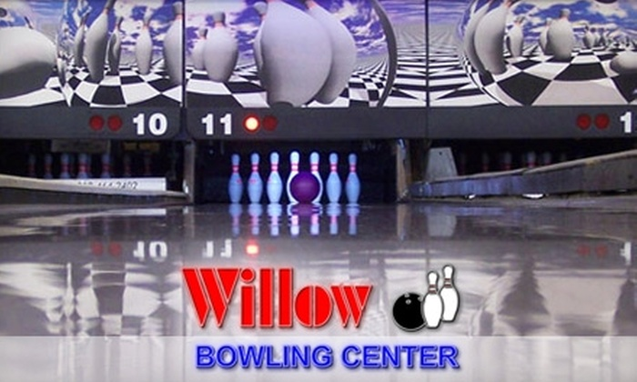 CJ's Willow Bowling Center - Garvinwood: $5 for Two Games of Bowling, One Soft Drink and One Pair of Rental Shoes at CJ's Willow Bowling Center (Up to $12.50 Value)
