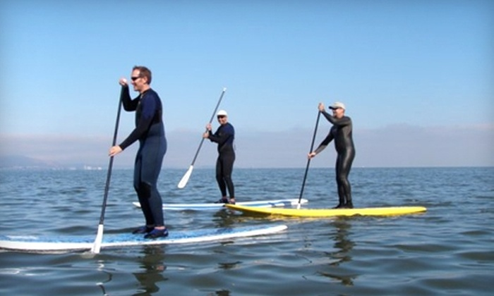 Boardsports School & Shop - Multiple Locations: $49 for a Stand-Up Paddle-Boarding Class at Boardsports School & Shop ($99 Value)