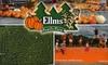 Ellms family farm - Ballston: $8 for Two General-Admission Tickets to Ellms Family Farm
