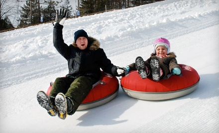 Tubing Package Including 3 Hours of Winter Tubing TuesdayThursday and 1 Hot Chocolate  - Chicopee Tube Park in Kitchener