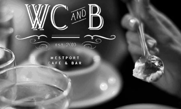 Westport Café & Bar - Old Westport: $10 for $20 Worth of French-American Fare and Specialty Cocktails at Westport Café & Bar