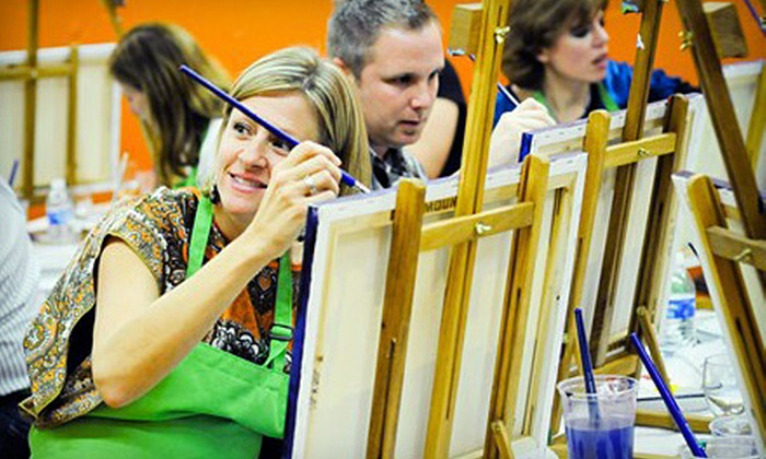 InterArt - Detroit - Shoreway: BYOB Arts-and-Crafts Classes at InterArt. Four Options Available.
