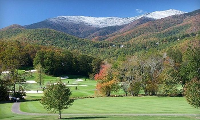 Mount Mitchell Golf Resort - Burnsville: $70 for a Round of Golf for Two at Mount Mitchell Golf Resort in Burnsville (Up to $176 Value)