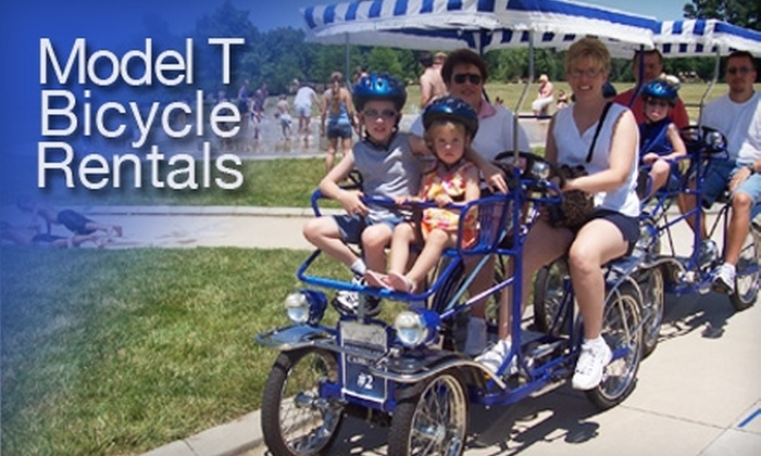 Model T Bicycle Rentals - Downtown Fort Wayne: $15 for a One-Hour Model T Horseless Carriage Ride from Model T Bicycle Rentals ($30 Value)