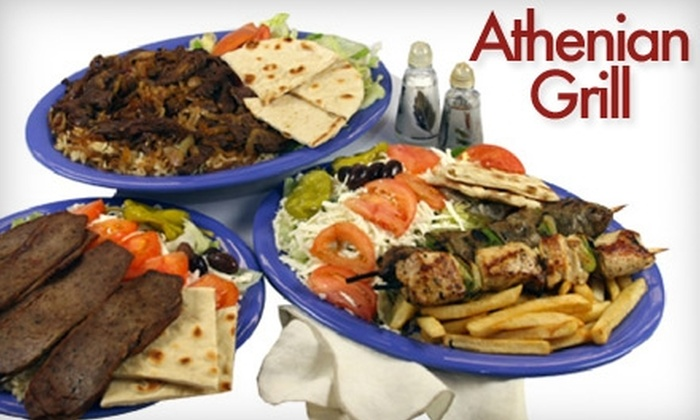 Athenian Grill - Reseda: $8 for $20 Worth of Mediterranean Cuisine and Drinks at Athenian Grill in Reseda