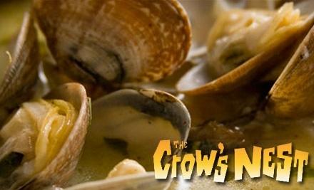 The Crow's Nest Restaurant: $40 Groupon for Dinner - The Crow's Nest Restaurant in Santa Cruz