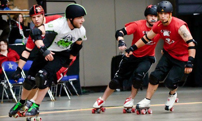 St. Louis GateKeepers - Midwest Sport Hockey Complex: $20 for a St. Louis GateKeepers Men's Roller Derby Bout for Four at Midwest Sport Hockey Complex (Up to $40 Value)