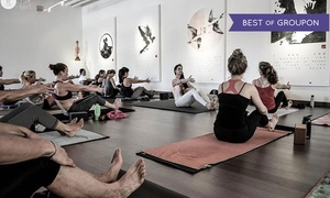 You and the Mat: $25 for 10 Yoga Classes at You and the Mat ($175 Value)