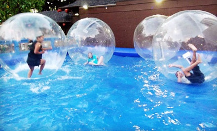 1 Hamster-Ball Ride (a $10 value) - Water Ball Entertainment in Honolulu
