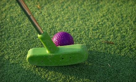 Round of 19-Hole Indoor Mini Golf for 2 and Two 2 Scoop-Servings of Blue Bell Ice Cream (a $19 value) - Scenic City Mini Golf in Chattanooga