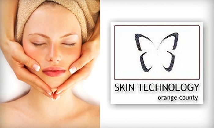 Skin Technology - Costa Mesa: $49 Customized Facial with Oxygen Treatment or Microdermabrasion at Skin Technology