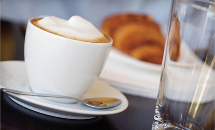 $10 Groupon - Brown Dog Coffee Shoppe in Paris