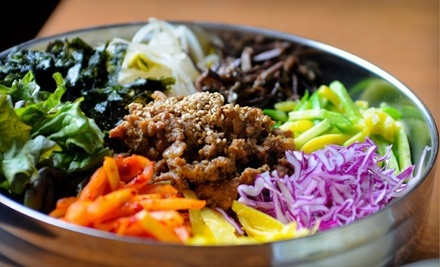 $30 Groupon for a Table of 2 - Dasonii Korean Bistro in Pittsburgh