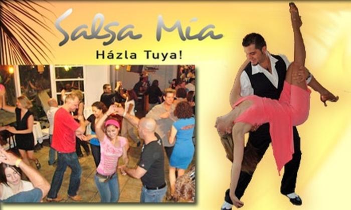 Salsa Mía - Miami: $12 for a Salsa Dance Class at Salsa Mía ($40 Value)