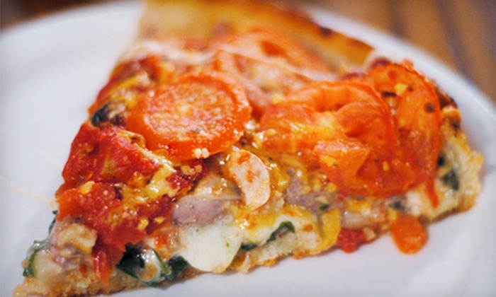 J'Romes Pizzeria and Diner - Quoddy: $15 for $30 Worth of Gourmet Pizza and Subs at J'Romes Pizzeria and Diner in Eastport