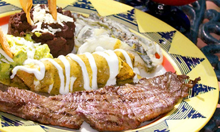 Coyote Crossing - Conshohocken: Lunch or Dinner for Two or Four or $15 for $30 Worth of Mexican Fare at Coyote Crossing in Conshohocken