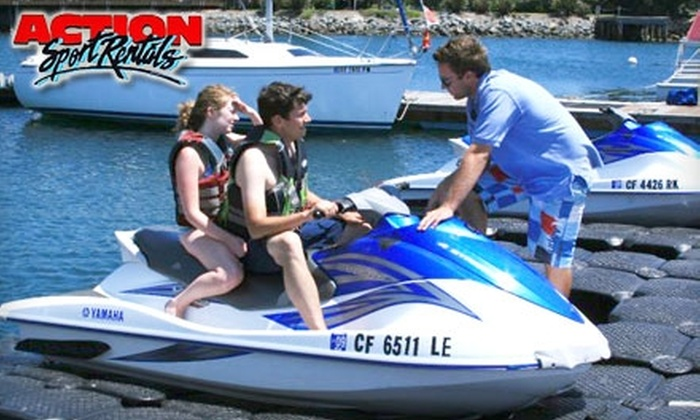 Action Sports Rentals - Multiple Locations: $89 for Two-Hour Jet-Ski Rental from Action Sports Rentals