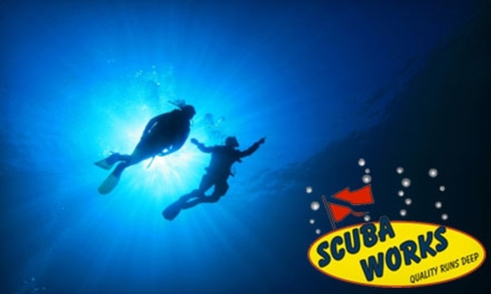 Scuba Works - Jupiter Bay: $69 for a Discover Scuba Class at Scuba Works ($149 Value)