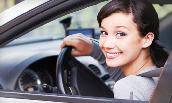 A Plus School of Driving LLC - Pittsburgh: Online Driving-Education Course or a 90-Minute Driving Lesson from A Plus School of Driving LLC (Up to 53% Off)