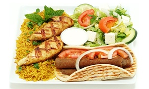 Gyros House Mediterranean Cuisine- Covington: $8 for $16 Worth of Mediterranean and Greek Food at Gyros House Mediterranean Cuisine