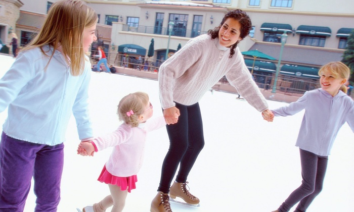 Civic Ice Arena - Monroe Multi-Sports Complex: Open-Skate Package for Four, or Five Weeks of Skate Lessons at Civic Ice Arena (Up to 56% Off)