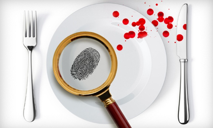 Occasions Divine - Near Northside: Five-Course Murder-Mystery Dinner for One, Two, or Four at from Occasions Divine (Up to 56% Off)