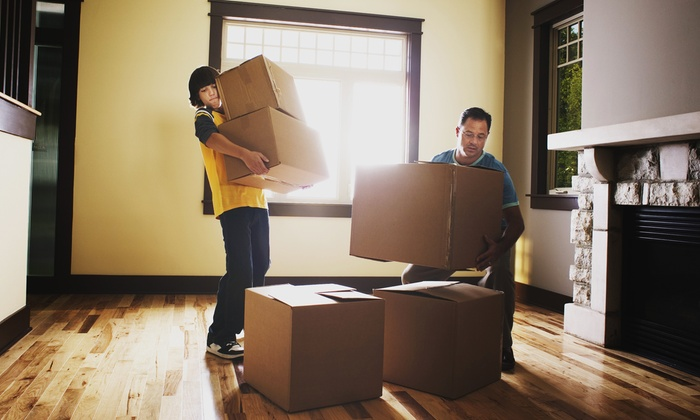 Express Line Moving - New York City: Two or Four Hours of Residential Moving with Truck and Two Movers from Express Line Moving (Up to 51% Off)