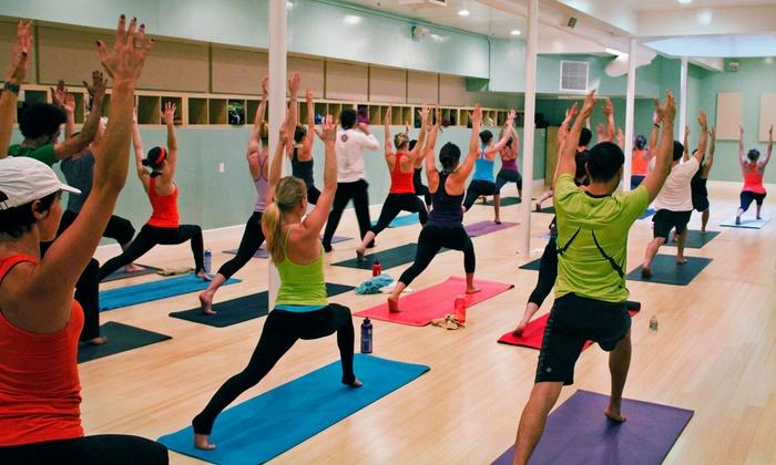 YogaHop - Santa Monica : $45 for 10 Classes at YogaHop ($175 Value)