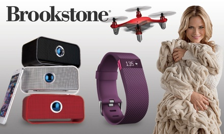 $25 for $50 Worth of Products from Brookstone