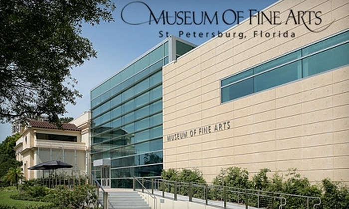 Museum of Fine Arts - Downtown St. Petersburg: $30 for Annual Individual Membership ($60 Value) or $16 for Two Adult Admissions ($32 Value) to the Museum of Fine Arts in St. Petersburg