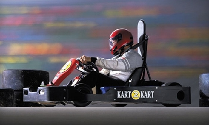 Kart 2 Kart - Sterling Heights: $18 for Two Go-Kart Races and One Fountain Soda with Unlimited Refills at Kart 2 Kart ($36 Value)