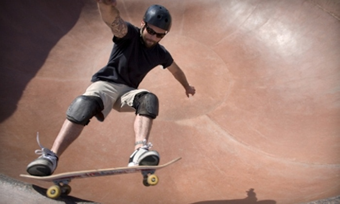 Hazard County Skate Park - McDonough: $25 for Two Two-Hour Skateboarding Lessons at Hazard County Skate Park in McDonough