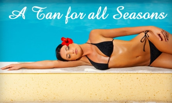 A Tan For All Seasons - Northridge: $25 for $100 Worth of Tanning Services at A Tan for All Seasons in Northridge