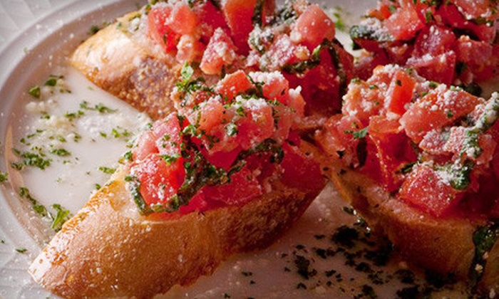 Amelia's Italian Cuisine - Gainesville: $40 for an Italian Meal with Wine for Two at Amelia's Italian Cuisine (Up to $82 Value). Two Options Available.