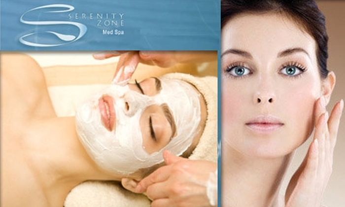 Serenity Zone Medical Spa - Olney: $49 for a Mani/Pedi or a Facial with VISIA Skin Analysis at Serenity Zone Med Spa