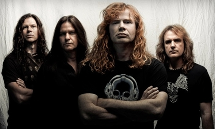 Gigantour featuring Megadeth with Motörhead, Volbeat, and Lacuna Coil - Susquehanna Bank Center: One Ticket to Gigantour with Megadeth and Motörhead at Susquehanna Bank Center in Camden on January 26 (Up to $52 Value)