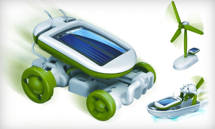Eco Educational Toys: $14 for a 6-in-1 Solar Educational Toy from Eco Educational Toys ($39 Value)