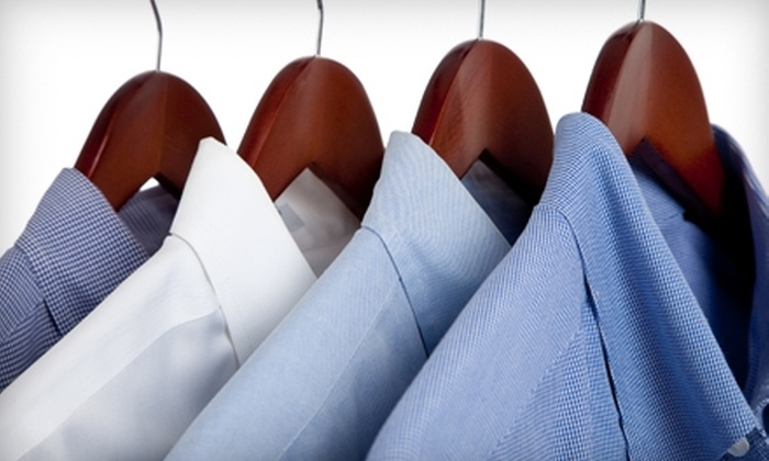 Dryve Cleaners - Multiple Locations: $20 for $45 Worth of Dry Cleaning from Dryve Cleaners