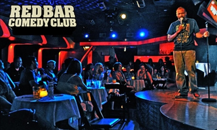The Red Bar Comedy Club - Near North Side: $10 for Two Tickets to The Red Bar Comedy Club ($20 Value). Choose from 16 Performances.