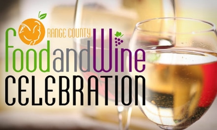 """Passport to Wine"" at the Orange County Food and Wine Celebration  - Newport Beach: $45 Admission to ""Passport to Wine"" at the Orange County Food and Wine Celebration on Saturday, May 22, from 3 p.m. to 7 p.m. ($75 Value)"