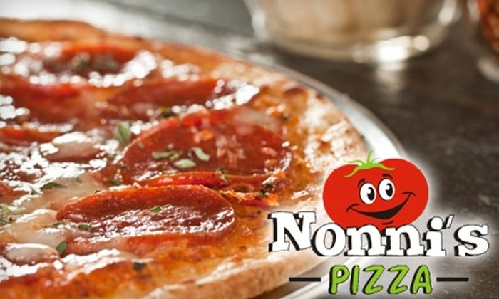 Nonni's Pizza - Multiple Locations: $10 for $20 Worth of Pizza at Nonni's Pizza