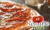 Nonni's Pizza - Multiple Locations: $10 for $20 Worth of Pizza at Nonni's Pizza