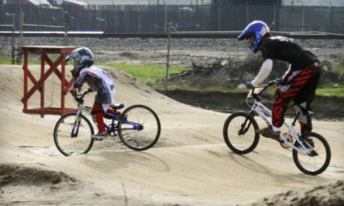 Metro BMX - Bakersfield: $5 for Two Bicycle-Motocross Practice Sessions from Metro BMX ($10 Value)