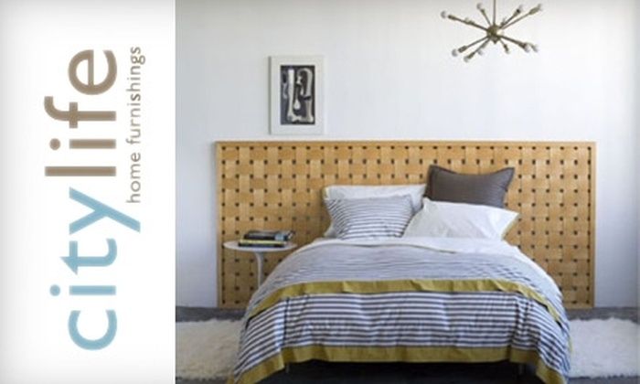 City Life Home Furnishings - Brea-Olinda: $25 for $75 Worth of Furniture, Artwork, Lighting, Rugs, and More at City Life Home Furnishings in Brea