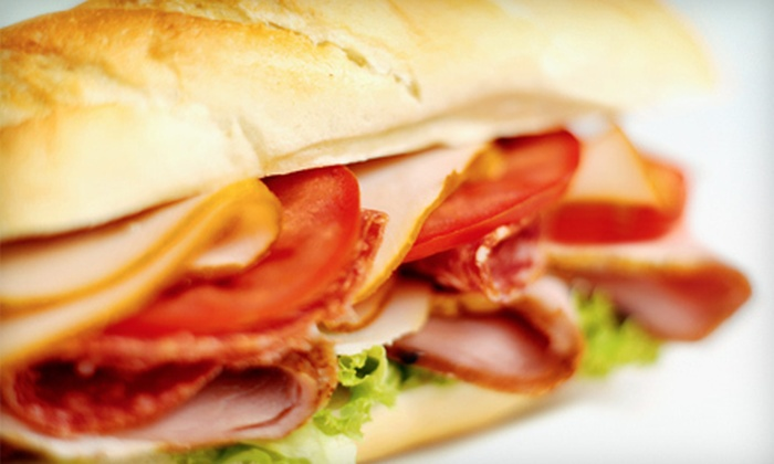 Bill & Ruth's Sub Shops - East Tulsa: Subs and Chips for Two or Four at Bill & Ruth's Sub Shop (58% Off)