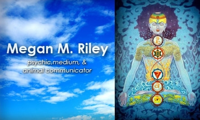 Megan M. Riley - Littleton: $35 for a One-Hour Reading with Local Psychic, Medium, and Animal Communicator Megan M. Riley