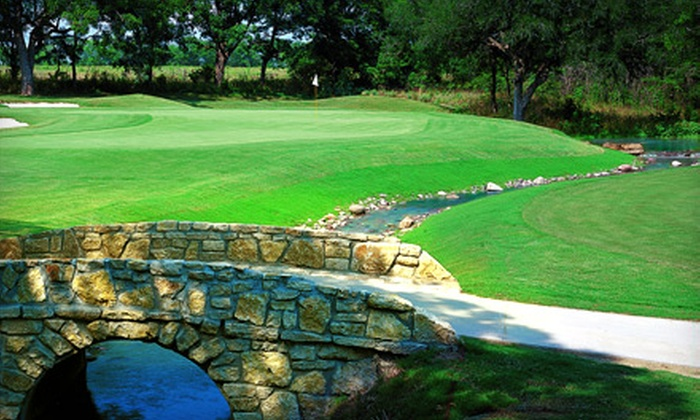 Woodbridge Golf Club - St. Paul: 18-Hole Golf Outing with Cart for One, Two, or Four at Woodbridge Golf Club in Wylie (Up to 58% Off)
