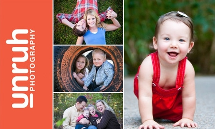 Unruh Photography - Wichita: $45 for a Professional On-Location Photography Session and Four Digitally Retouched Images from Unruh Photography ($295 Value)