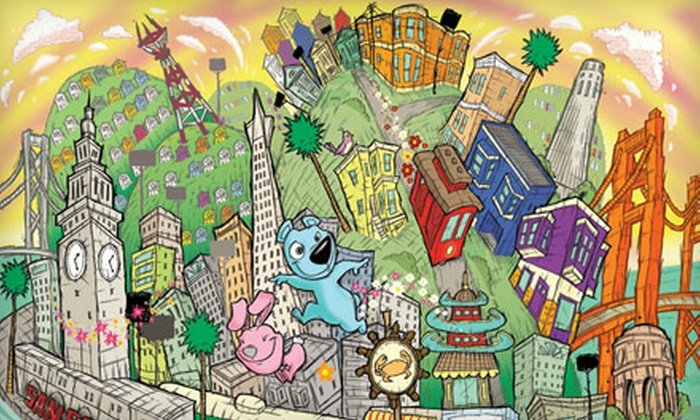 Sirron Norris Studio - Baja Noe,Noe Valley,Mission District: Five Cartooning Classes for Kids or Four-Hour Workshop at Sirron Norris Studio