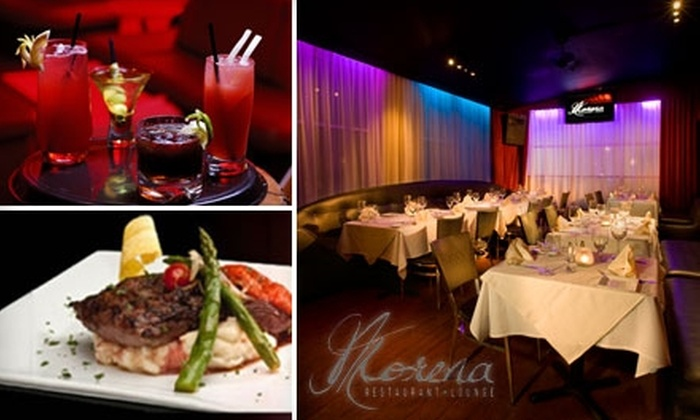 Morena Restaurant & Lounge - Flamingo / Lummus: Latin Fusion Cuisine and Drink at Morena Restaurant & Lounge. Choose from Two Options.